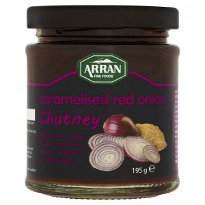 F2552 Caramelised Red Onion Chutney 195g
