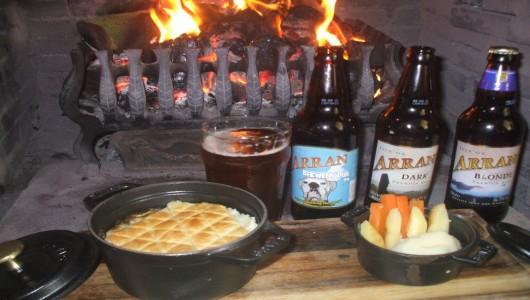 Arran Ale and Steak Pie - Jeremy Wares - Taste of Arran